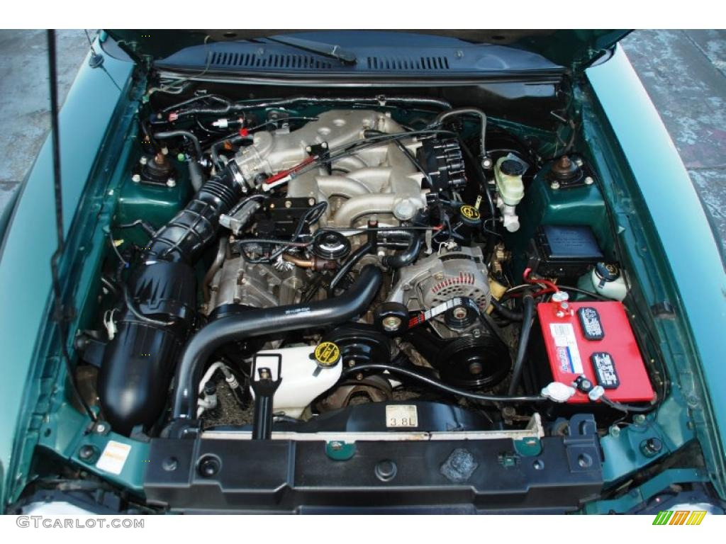 2000 ford mustang v6 coupe 3 8 liter ohv 12 valve v6 engine photo 43166549 gtcarlot com