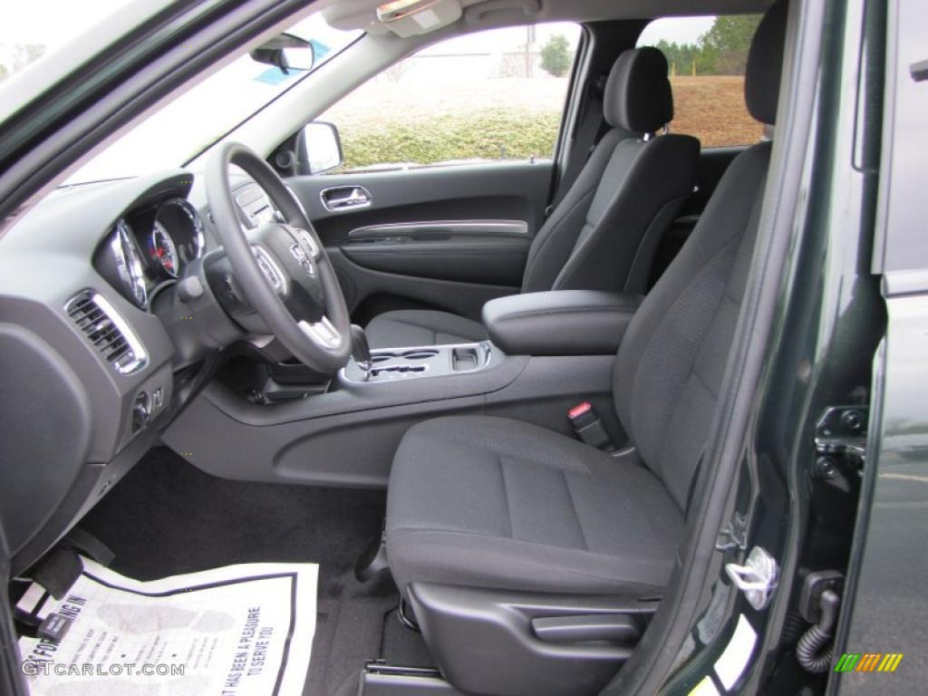 black interior 2011 dodge durango express photo 43195270. Black Bedroom Furniture Sets. Home Design Ideas
