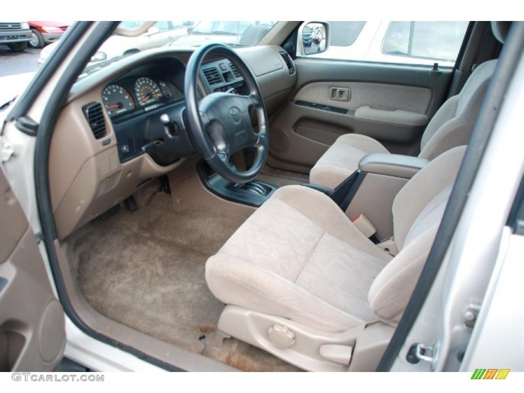 2000 Toyota 4runner Sr5 Interior Photo 43217705