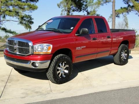 2006 Dodge Ram 1500 Big Horn Edition Quad Cab 4x4 Data, Info and Specs