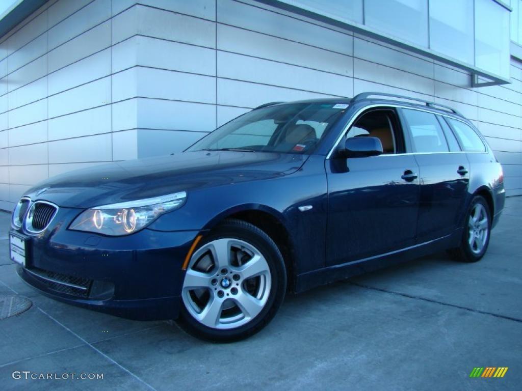 2008 Deep Sea Blue Metallic BMW 5 Series 535xi Sports Wagon