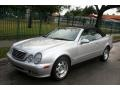 Front 3/4 View of 1999 CLK 320 Convertible