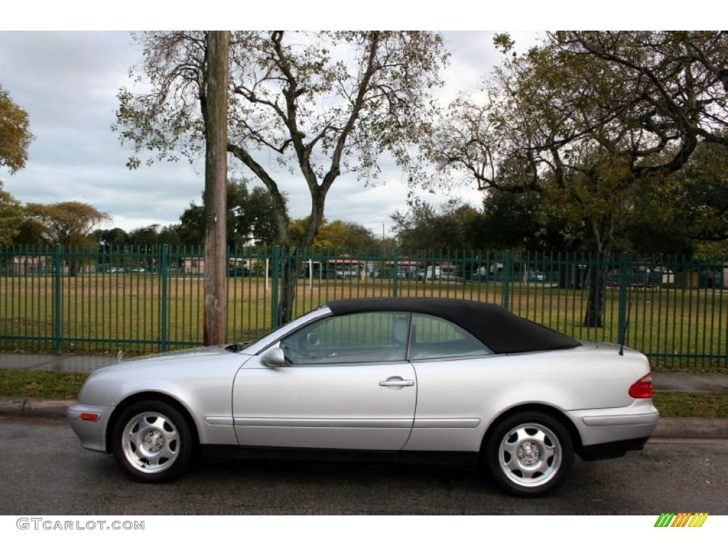 Brilliant silver metallic 1999 mercedes benz clk 320 for 1999 mercedes benz clk 430