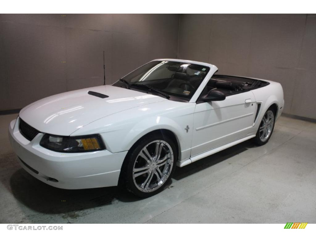 2001 ford mustang v6 convertible custom wheels photo. Black Bedroom Furniture Sets. Home Design Ideas