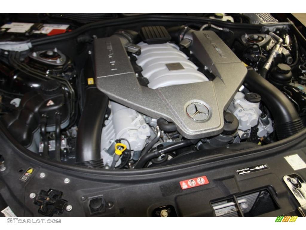 2009 mercedes benz cl 63 amg 6 2 liter amg dohc 32 valve for Mercedes benz v8 engine