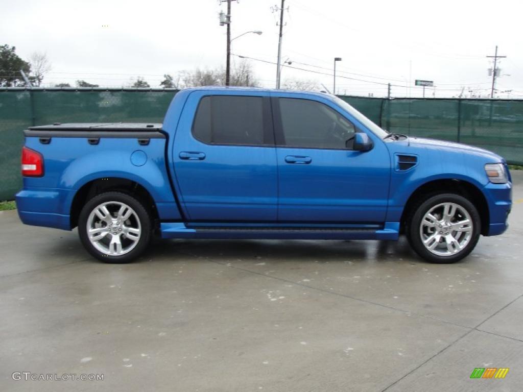 Blue Flame Metallic 2010 Ford Explorer Sport Trac
