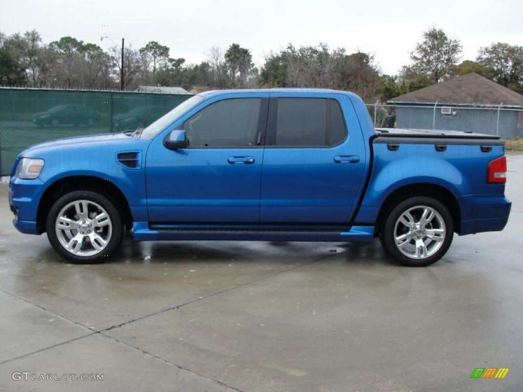 blue flame metallic 2010 ford explorer sport trac. Black Bedroom Furniture Sets. Home Design Ideas