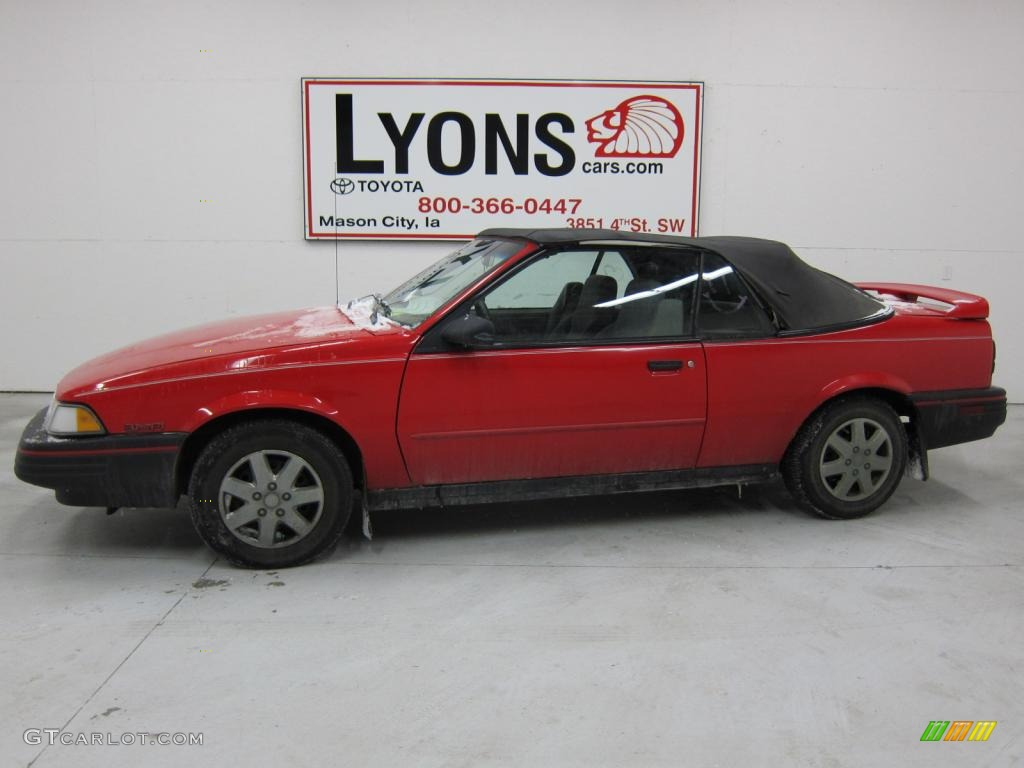 1994 Torch Red Chevrolet Cavalier Rs Convertible 43253717