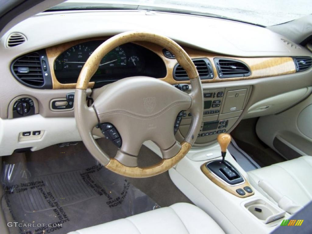 2002 Jaguar S Type 4.0 Interior Photo #43279826