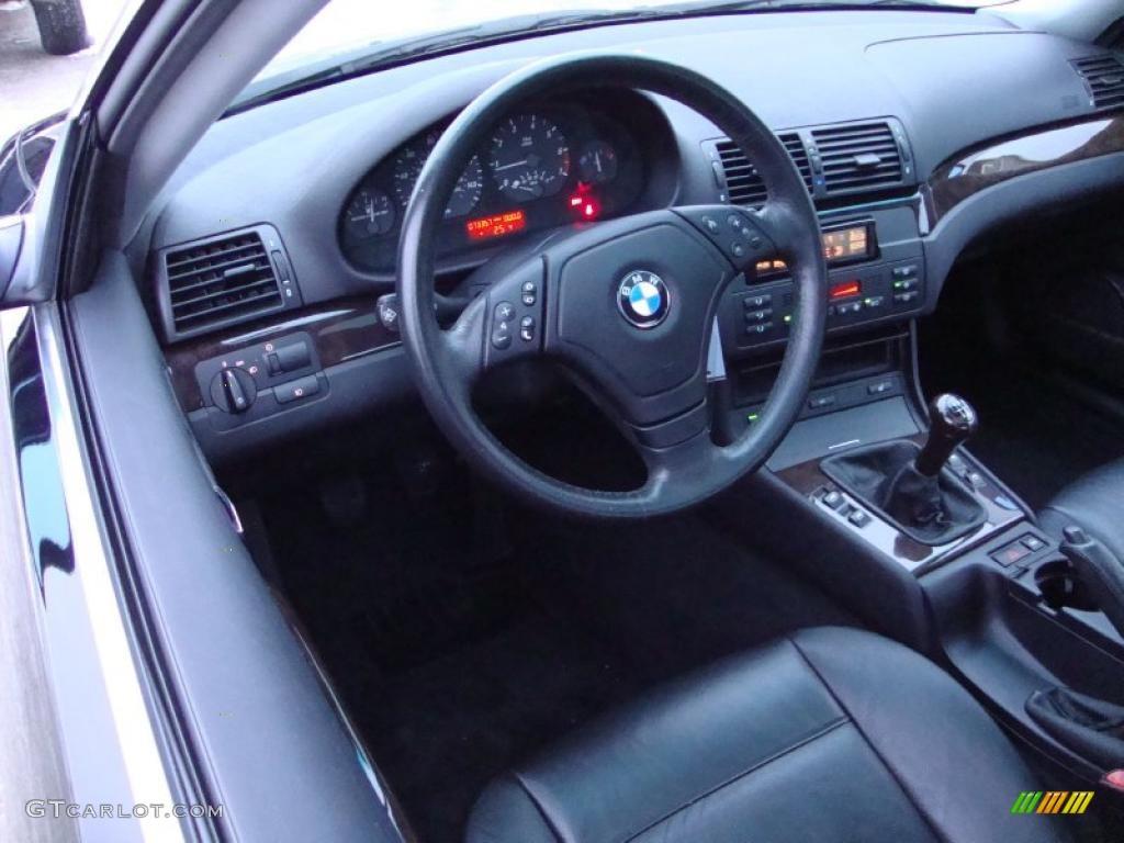 black interior 2000 bmw 3 series 328i coupe photo 43284823