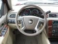 Dark Cashmere/Light Cashmere Steering Wheel Photo for 2011 Chevrolet Silverado 1500 #43287072
