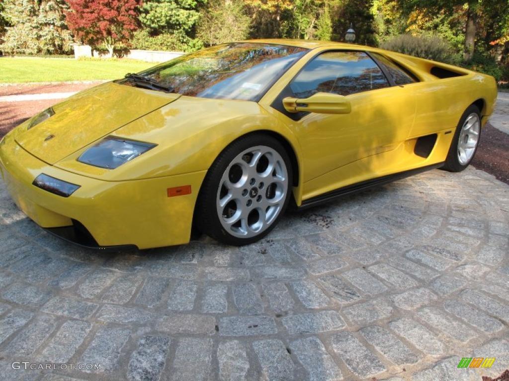 2001 Yellow Lamborghini Diablo 6 0 43254218 Gtcarlot Com Car