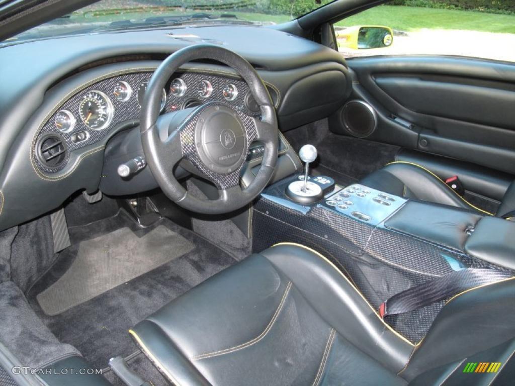 2001 Lamborghini Diablo 6 0 Interior Photo 43307252
