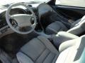 1995 Ford Mustang Gray Interior Prime Interior Photo
