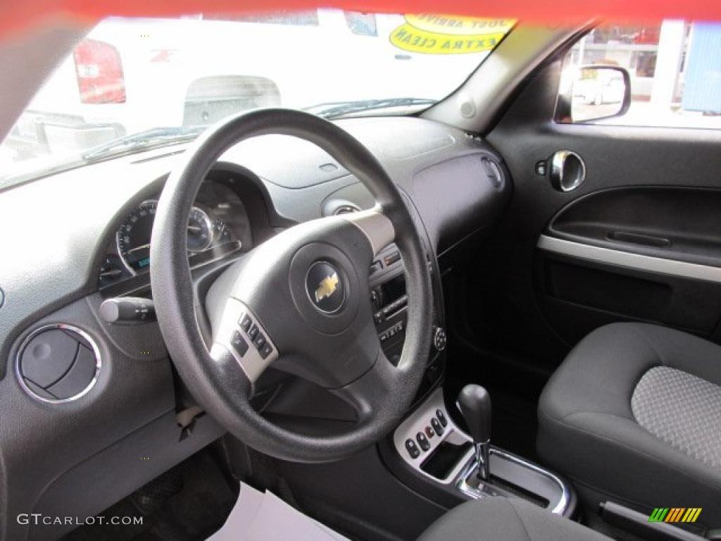 Ebony Black Interior 2007 Chevrolet Hhr Lt Photo 43322739