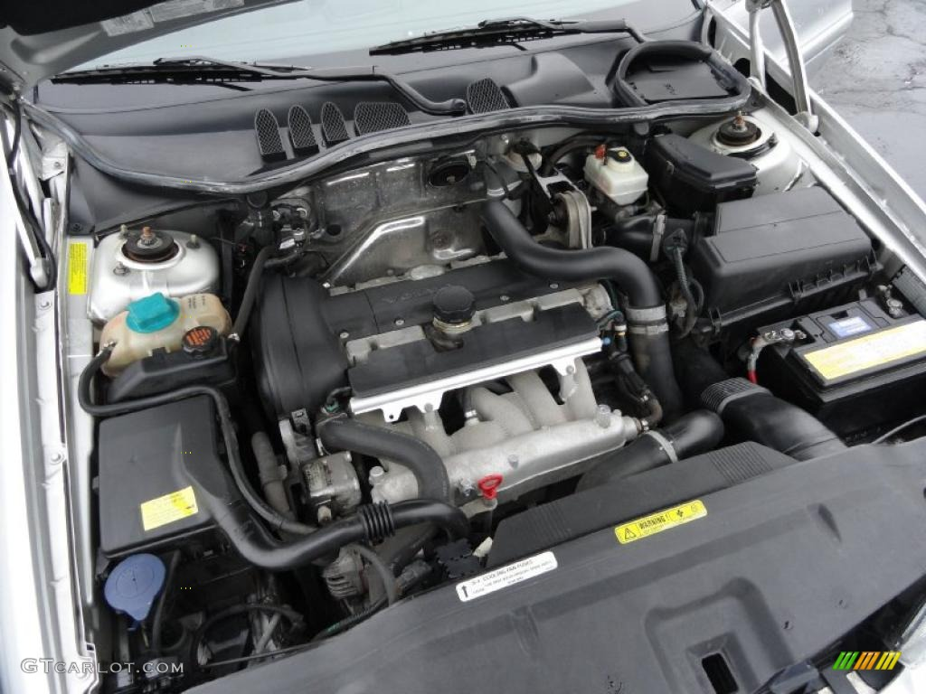 2002 Volvo C70 Ht Coupe Engine Photos