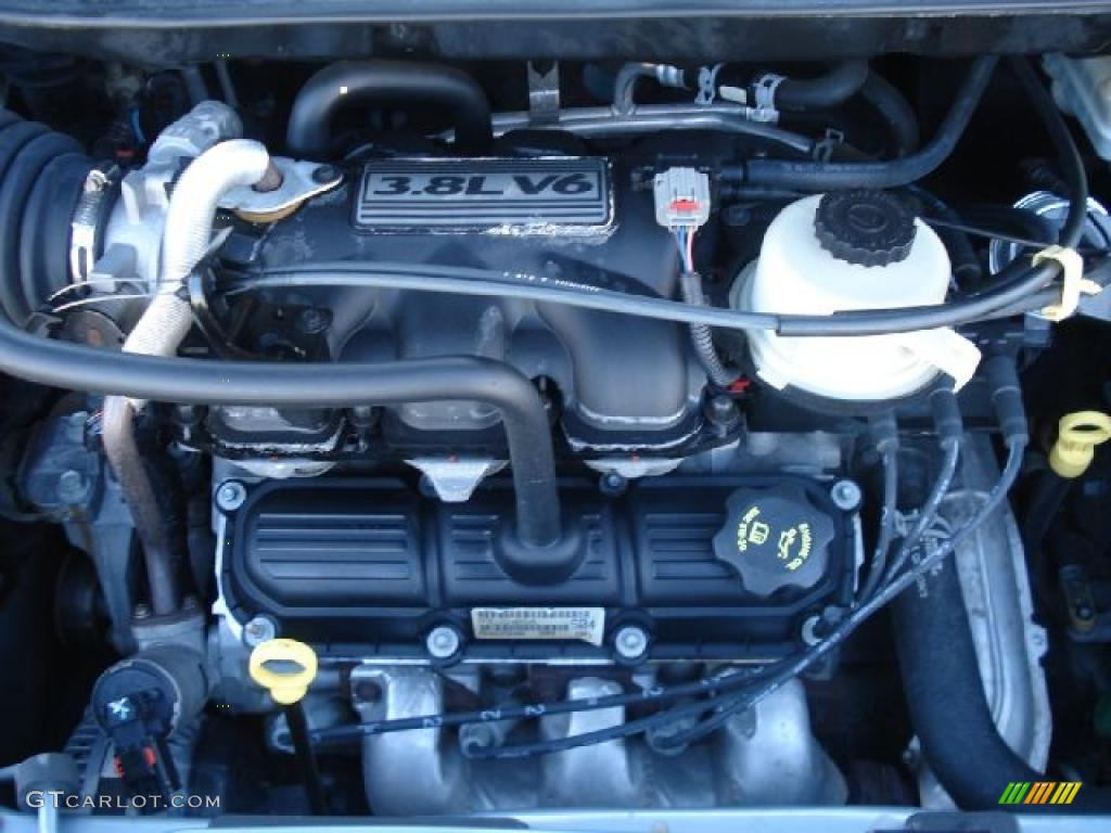 2007 chrysler town & country engine 3.8 l v6 limited touring