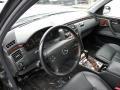Charcoal 2001 Mercedes-Benz E Interiors