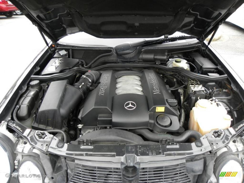2001 mercedes benz e 430 sedan 4 3 liter sohc 24 valve v8 for Mercedes benz v8 engine