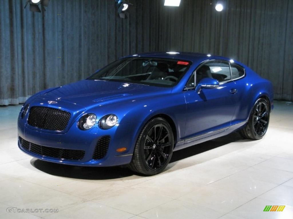 Bentley blue paint