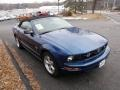 2007 Vista Blue Metallic Ford Mustang V6 Premium Convertible  photo #1