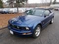2007 Vista Blue Metallic Ford Mustang V6 Premium Convertible  photo #3