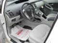 Misty Gray 2011 Toyota Prius Interiors