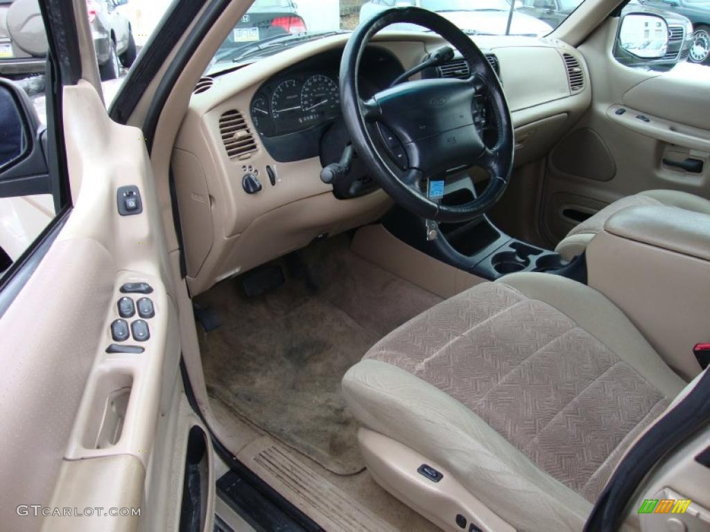 medium prairie tan interior 1998 ford explorer xlt 4x4 photo 43370400. Black Bedroom Furniture Sets. Home Design Ideas