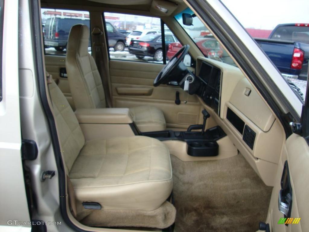 Tan interior 1996 jeep cherokee se 4wd photo 43371104 - 1996 jeep grand cherokee interior ...
