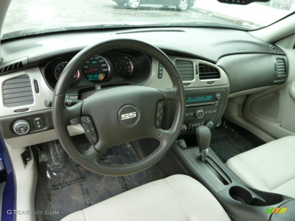 Gray Interior 2007 Chevrolet Monte Carlo Ss Photo 43374396