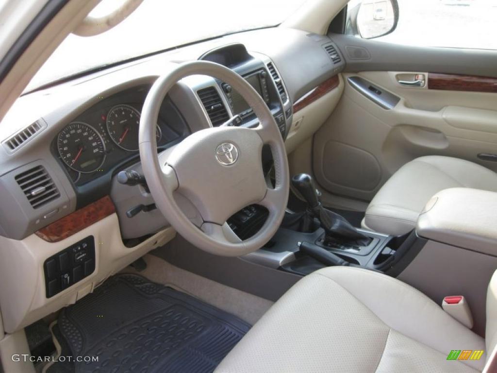 Ivory Interior 2007 Toyota Land Cruiser Standard Land Cruiser Model Photo 43383105