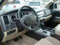 Sand Beige Dashboard Photo for 2010 Toyota Tundra #43388507