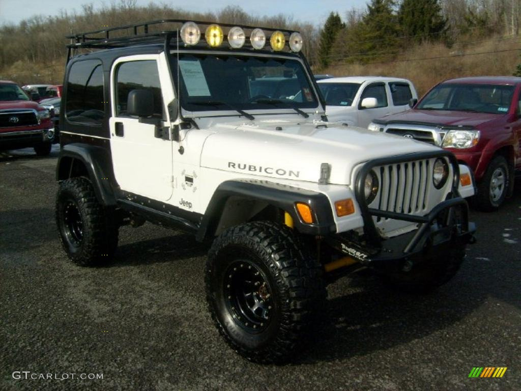 2005 stone white jeep wrangler rubicon 4x4 43339782 car color galleries. Black Bedroom Furniture Sets. Home Design Ideas