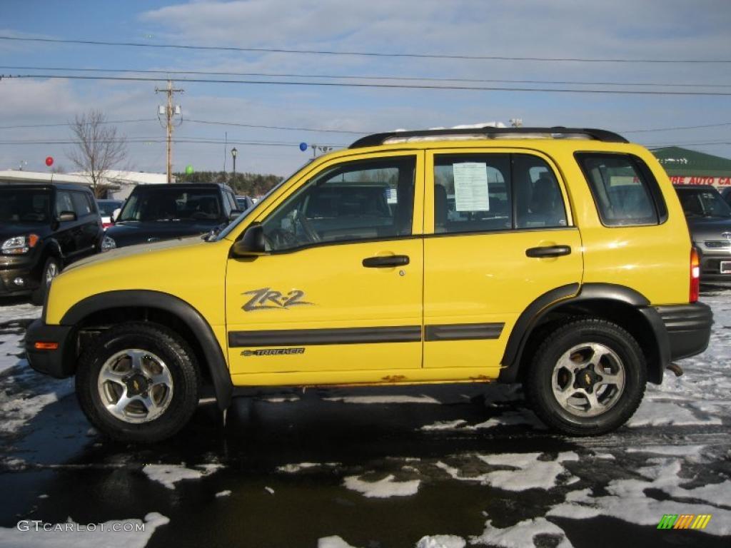 2002 Chevy Tracker Zr2 Yellow 2002 Chevrolet Tracker ZR2 4WD Hard Top Exterior Photo ...