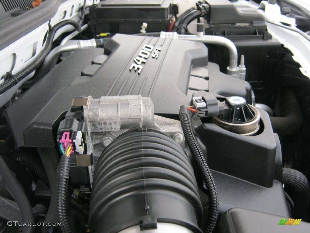 2009 Chevrolet Equinox Ls 3 4 Liter Ohv 12 Valve V6 Engine