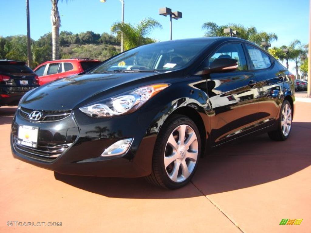 2011 Black Noir Pearl Hyundai Elantra Limited 43338684 Gtcarlot Com Car Color Galleries