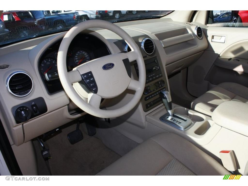 Pebble Beige Interior 2006 Ford Freestyle Se Photo 43414068