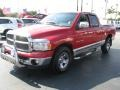 2002 Flame Red Dodge Ram 1500 SLT Quad Cab  photo #5