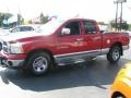 2002 Flame Red Dodge Ram 1500 SLT Quad Cab  photo #7