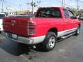 2002 Flame Red Dodge Ram 1500 SLT Quad Cab  photo #13