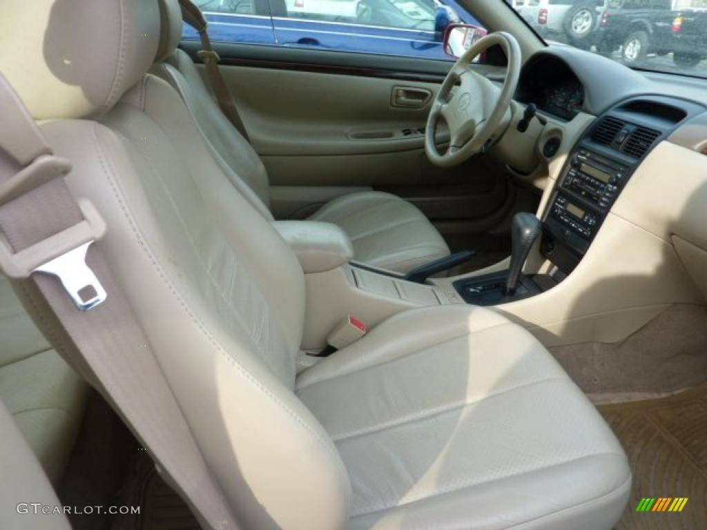 2001 Toyota Solara Sle V6 Coupe Interior Photo 43439198