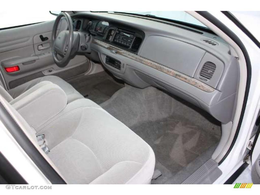 light graphite interior 1998 ford crown victoria lx sedan photo 43442340