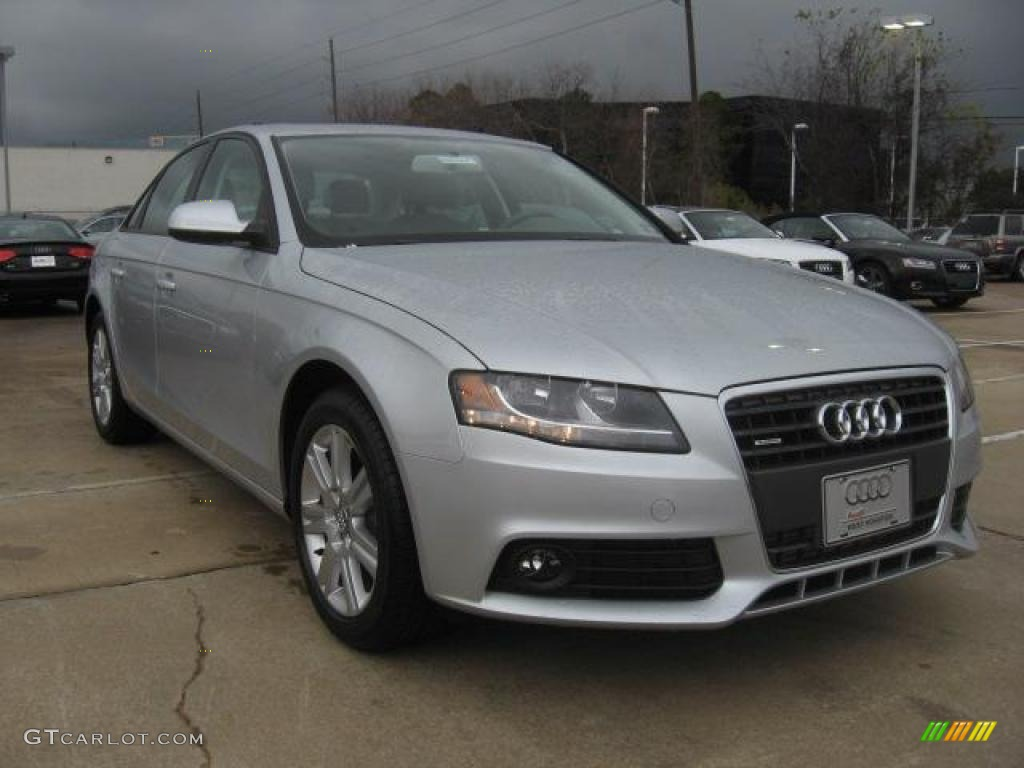 ice silver metallic 2011 audi a4 2 0t quattro sedan exterior photo 43446072 gtcarlot com