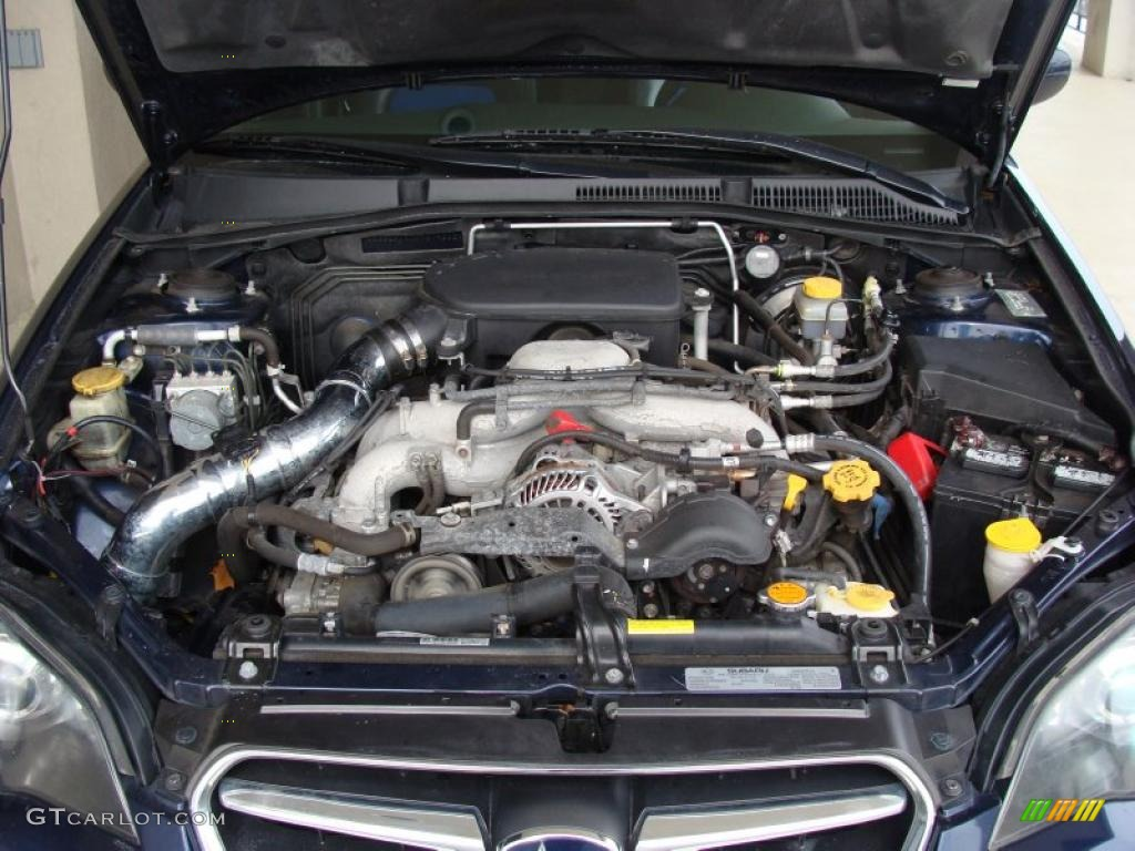2005 Subaru Legacy 2 5i Sedan Engine Photos Gtcarlot Com