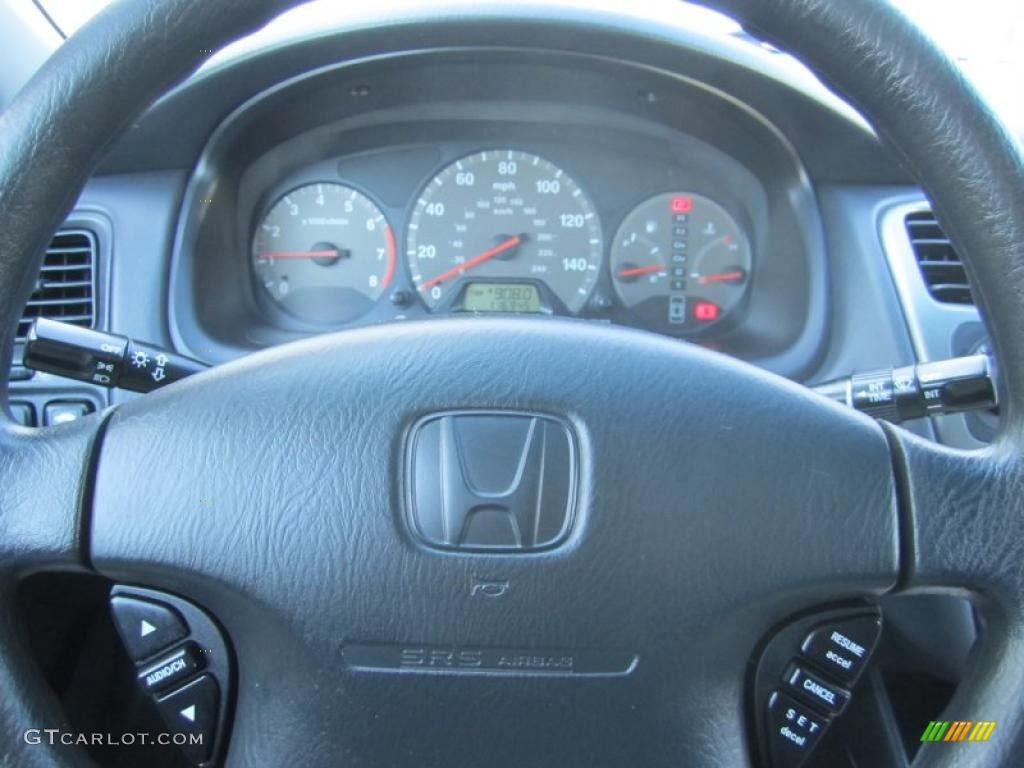 2011 Honda Accord Ex L V6 >> 2001 Honda Accord EX Coupe Black Steering Wheel Photo