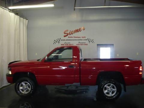 on 1996 Dodge Ram 1500 4x4