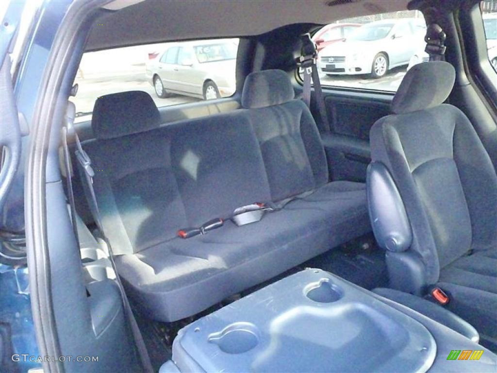 Nice Navy Blue Interior 2002 Dodge Grand Caravan Sport Photo #43506424