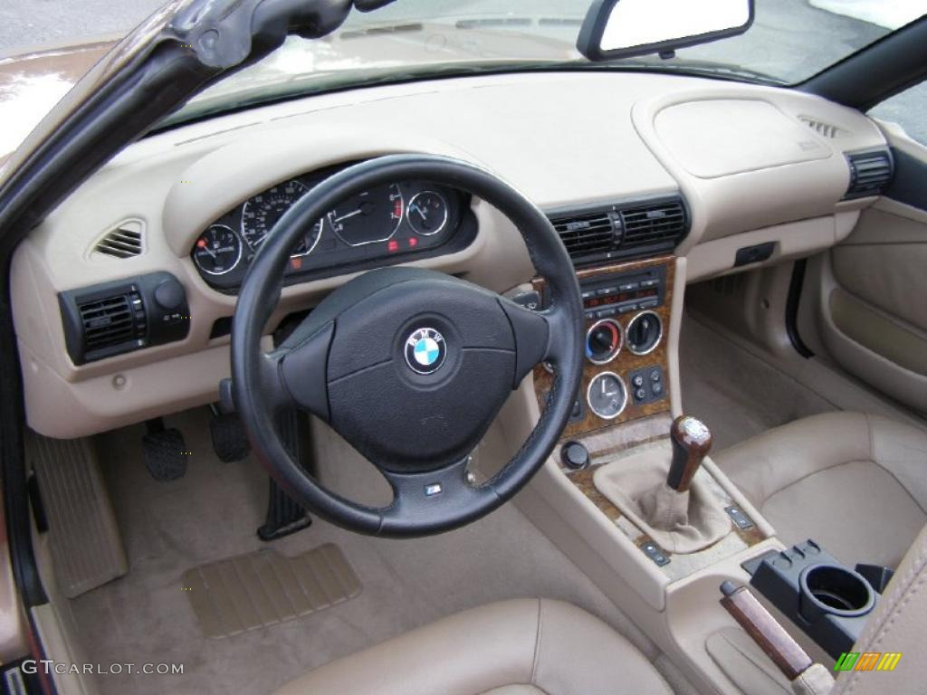 Beige Interior 2001 Bmw Z3 2 5i Roadster Photo 43509540