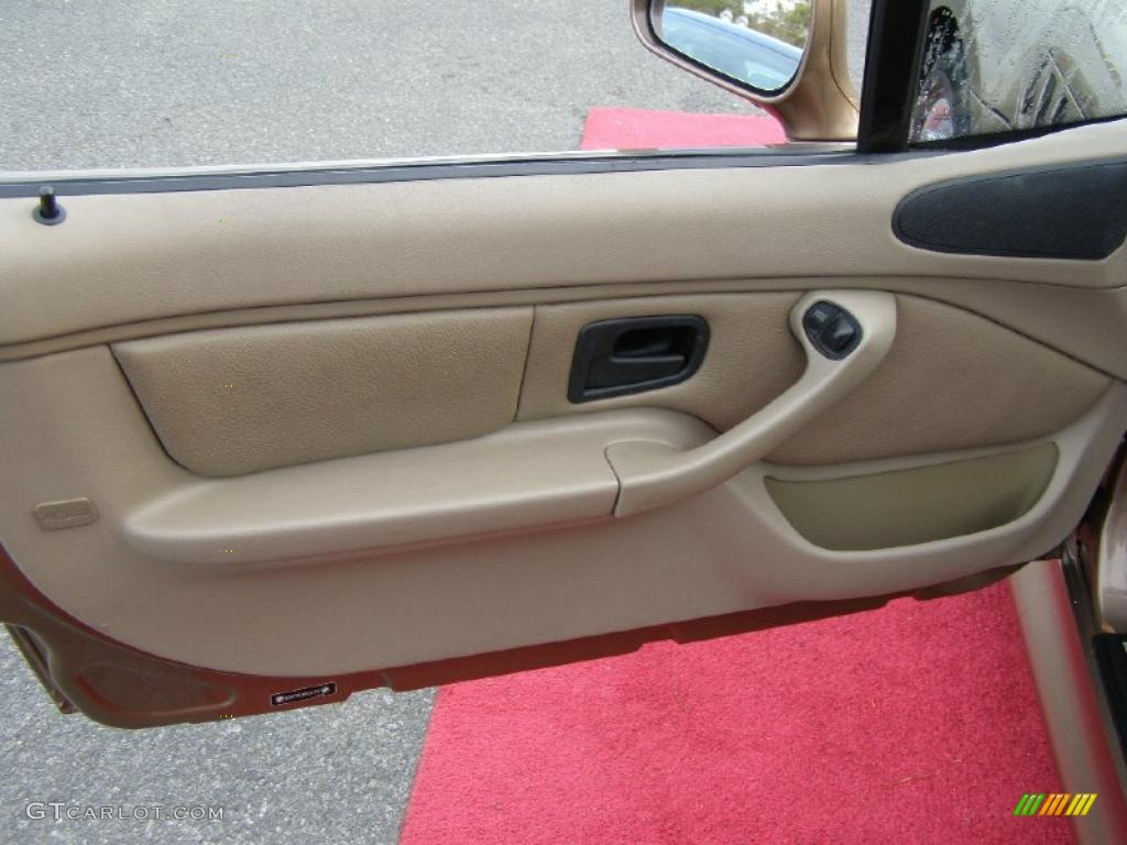 2001 Bmw Z3 2 5i Roadster Beige Door Panel Photo 43509556