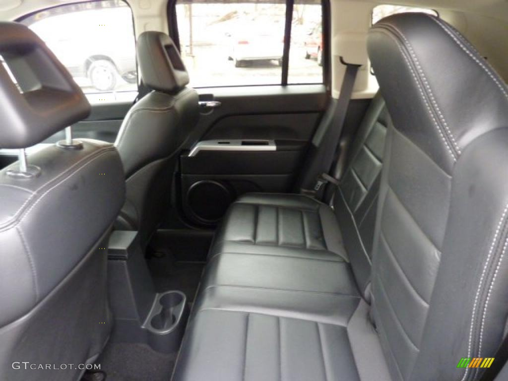 dark slate gray interior 2008 jeep compass limited photo. Black Bedroom Furniture Sets. Home Design Ideas